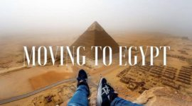 Moving to Cairo, Egypt